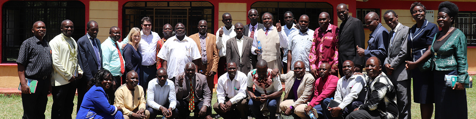 RICC meets with the Bungoma Kenya pastor's council