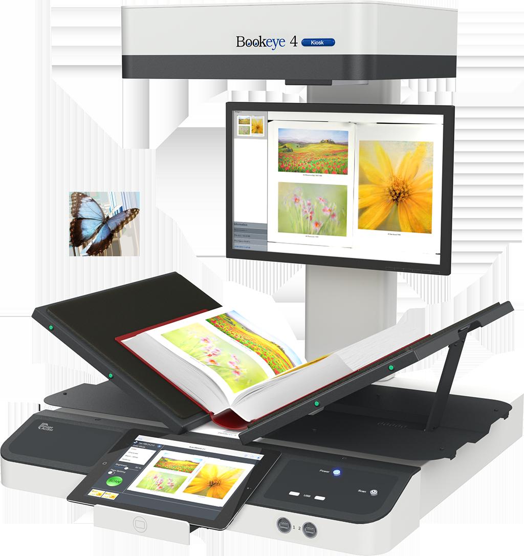 Bookeye 4 V2 Buchscanner