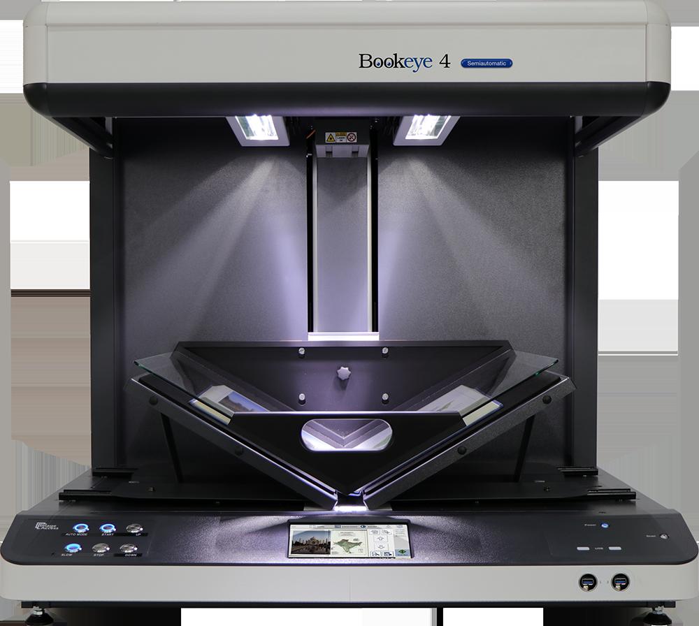 Bookeye 4 V2 Semiautomatic