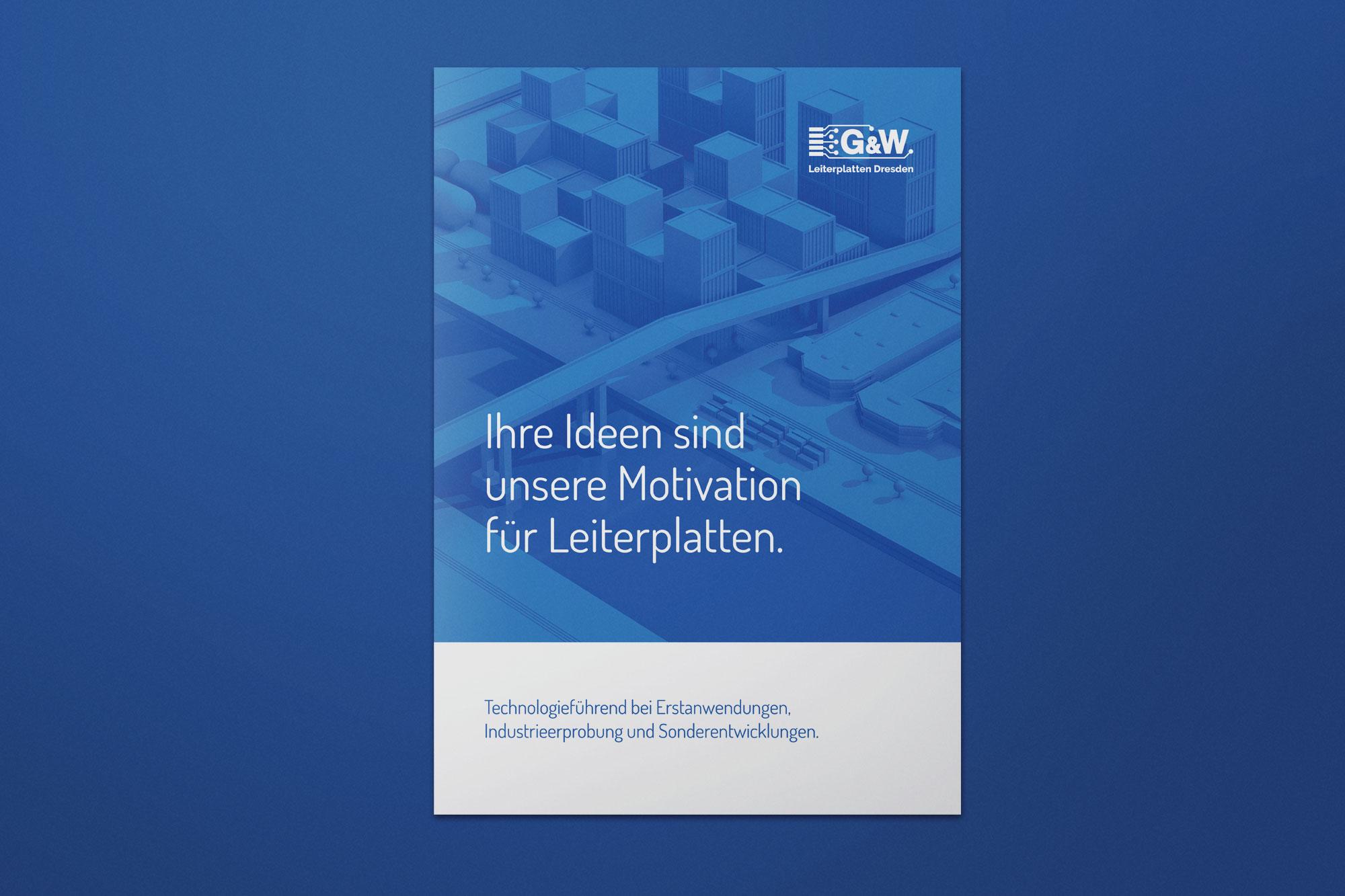 Imagebroschüre G&W Leiterplatten Dresden