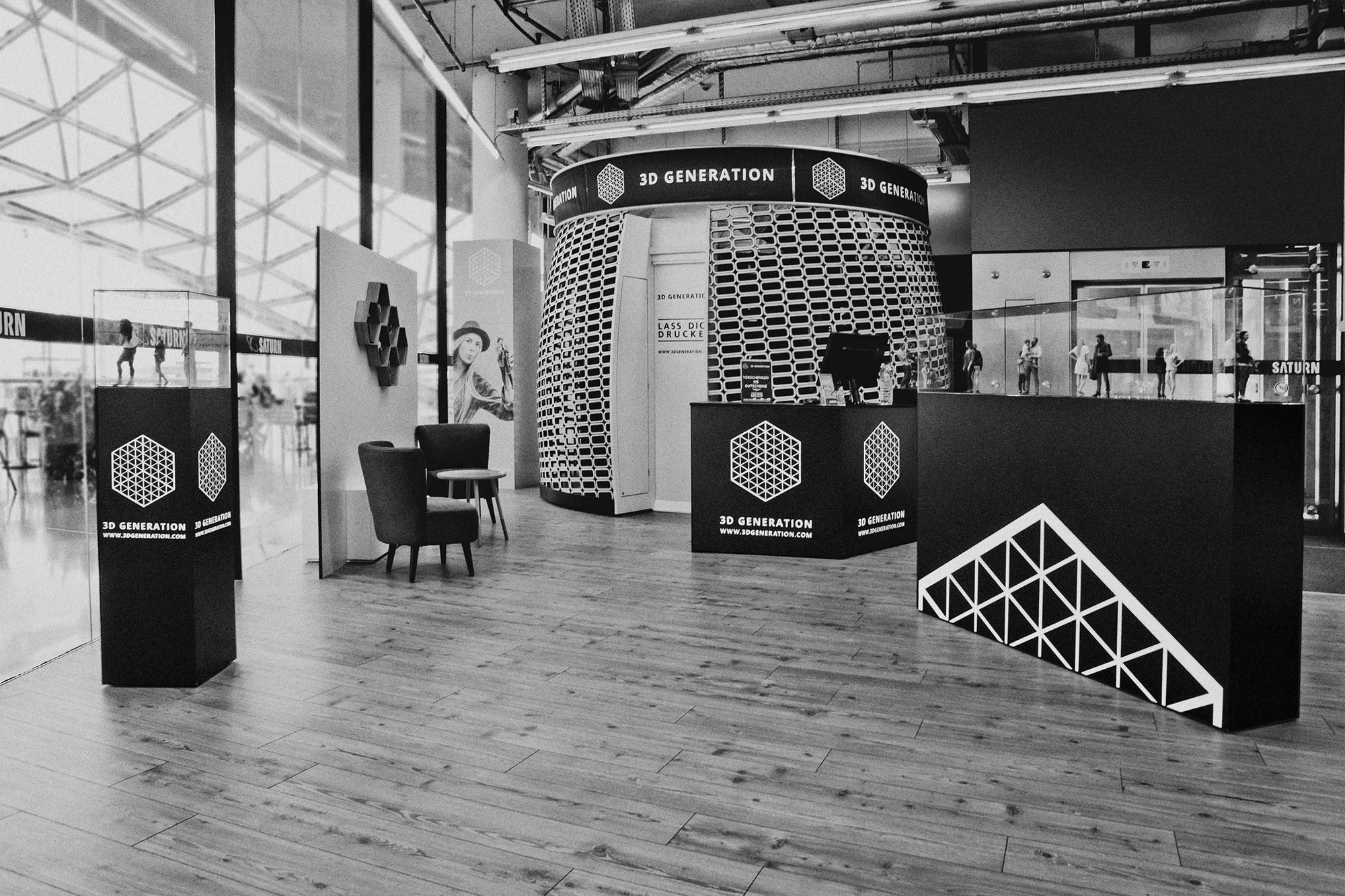 Store-Gestaltung 3D Generation