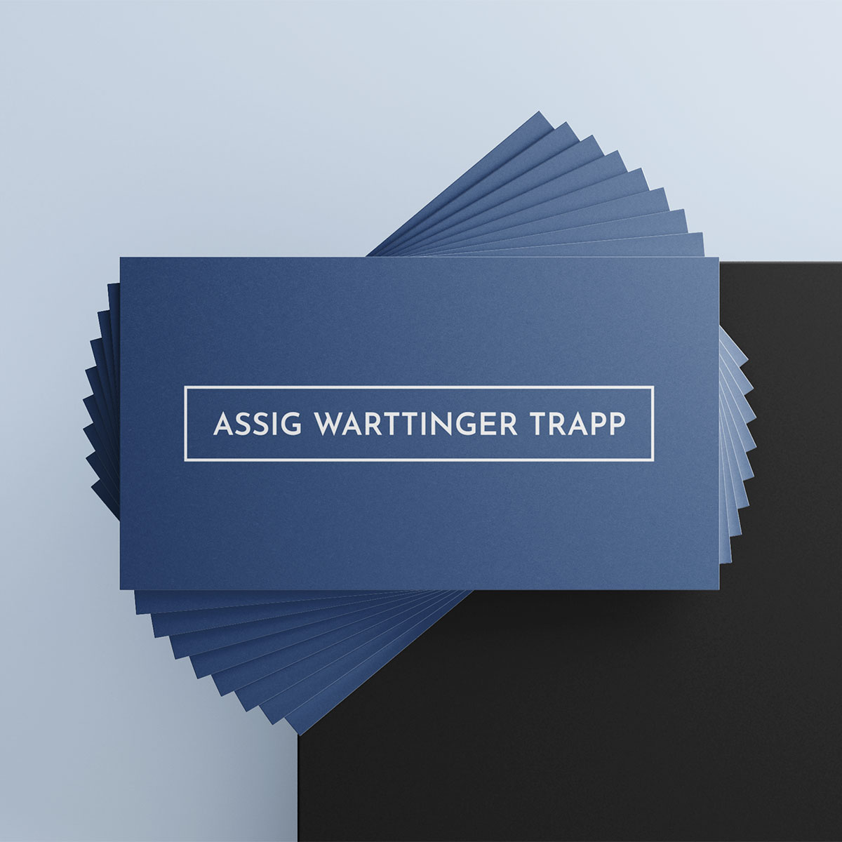 Visitenkarte Assig Warttinger Trapp