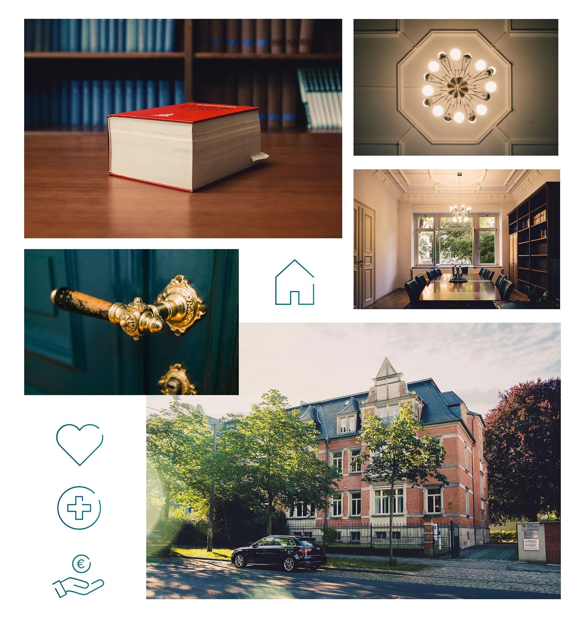 Erstellung von Grafiken und Imagefotos für Website-Relaunch
