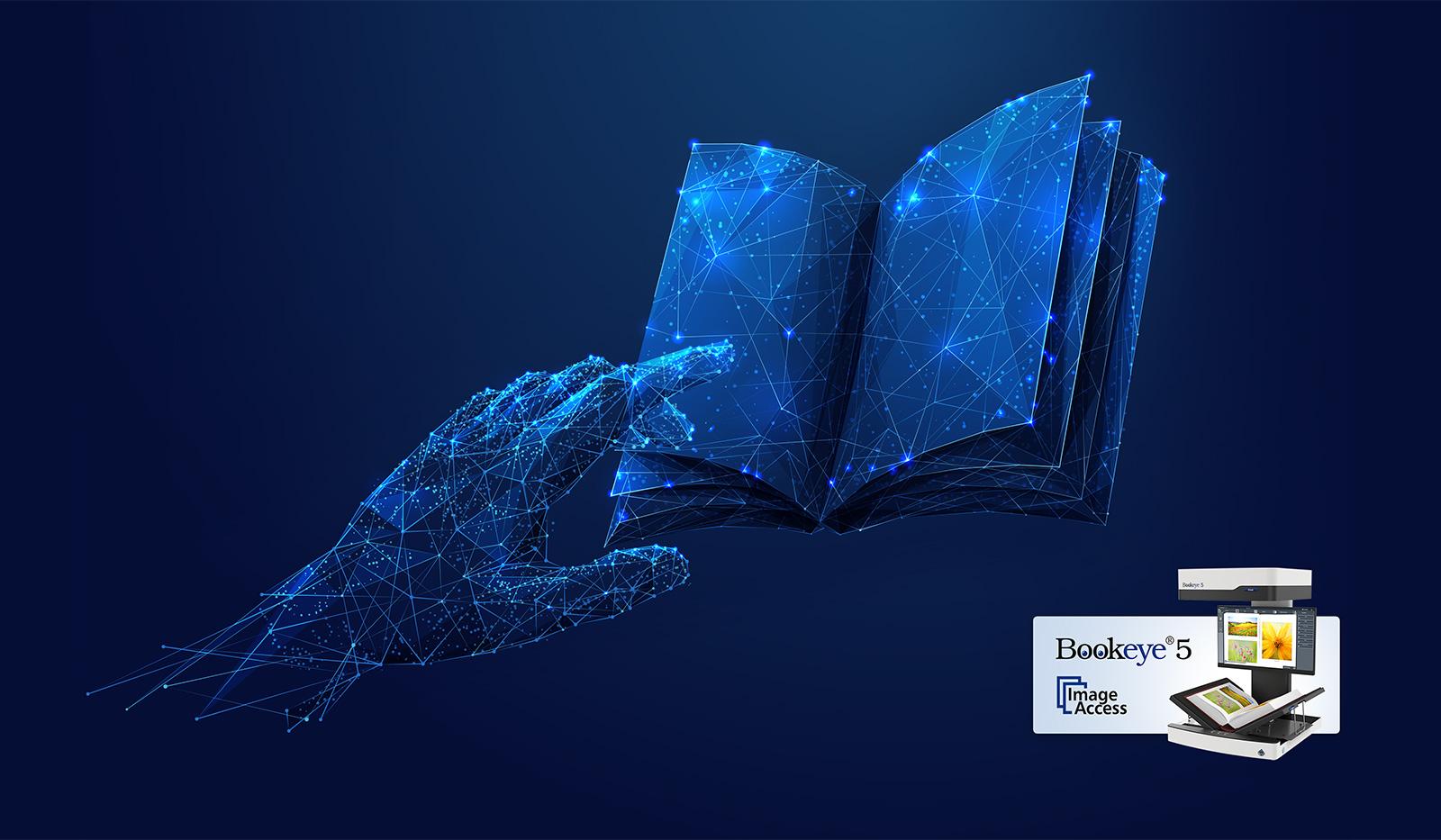 Der neue Bookeye® 5 V3 – für Bibliotheken, Archive, Dienstleister & Universitäten - Digitalisieren von Büchern
