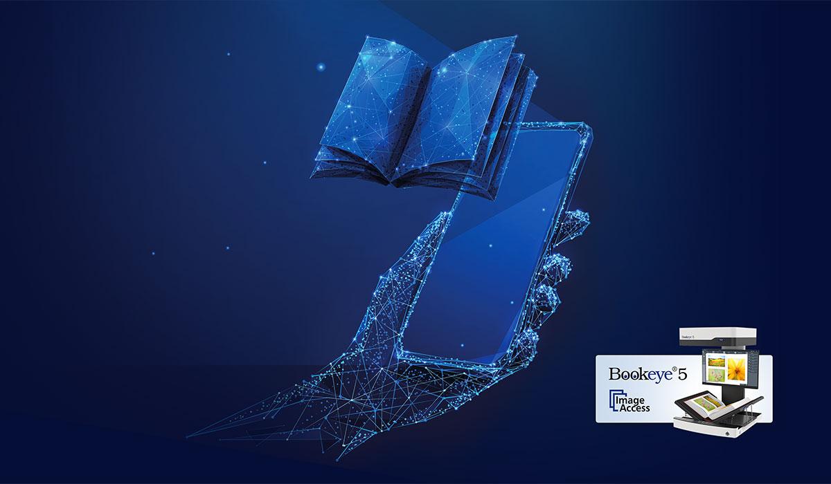 Vorhang auf für den Bookeye® 5 V3 – die nächste Generation für Bibliotheken, Archive, Dienstleister & Universitäten