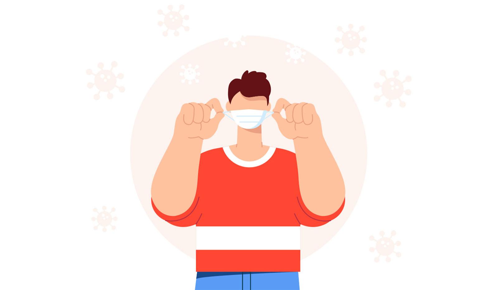 Keine Maske dank sauberer & gesunder Luft in geschlossenen Räumen