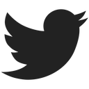 black twitter icon with link to store page