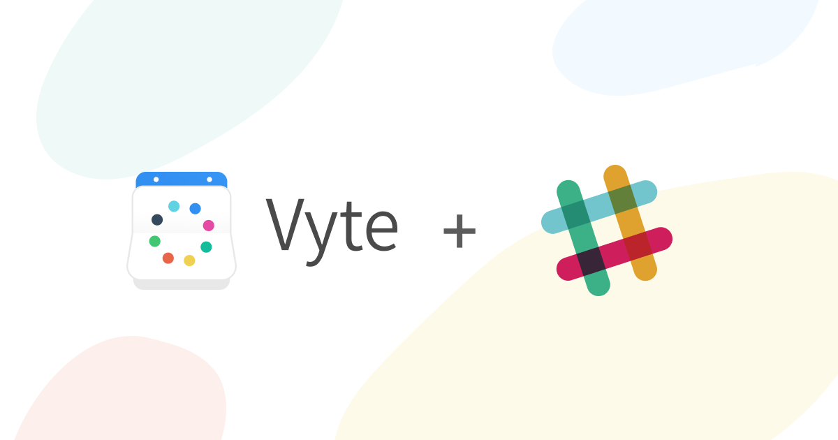 Vyte Scheduling - Slack Bot Integration