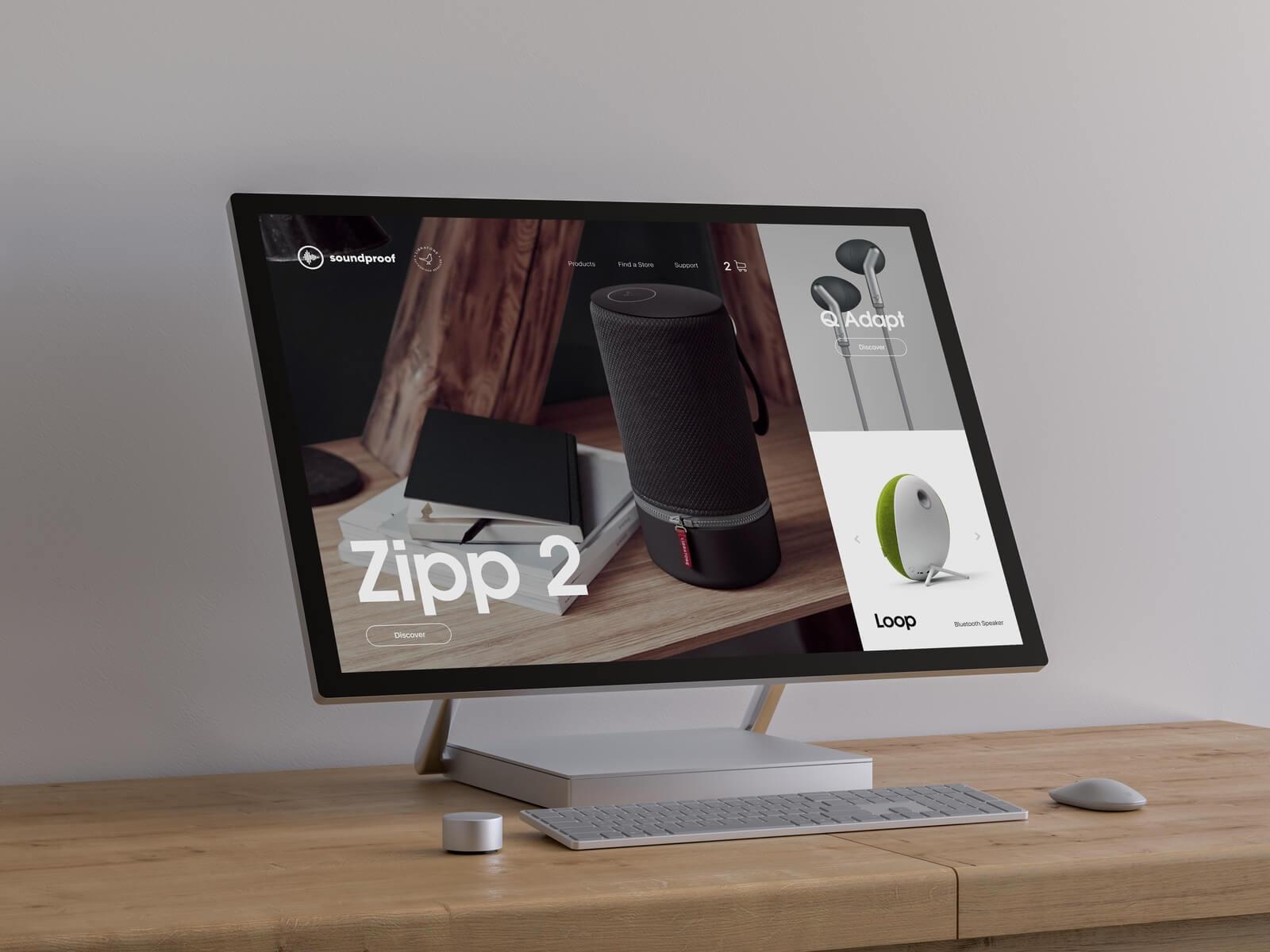 Portfolio Item - Webdesign 01