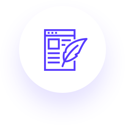 Blog Post Copywriting Icon