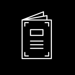 Brochure Copywriting Icon