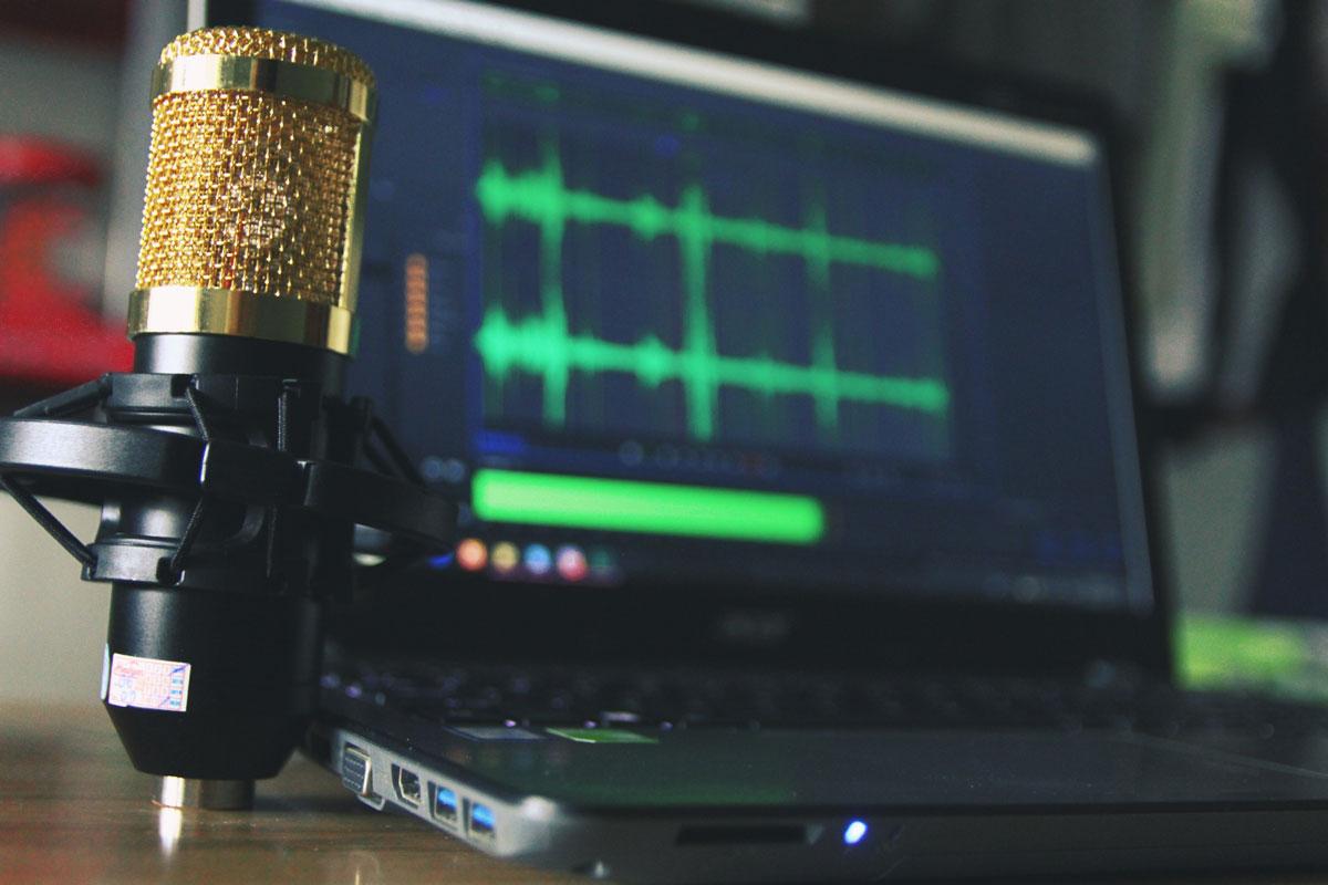 Audio Recording Poto