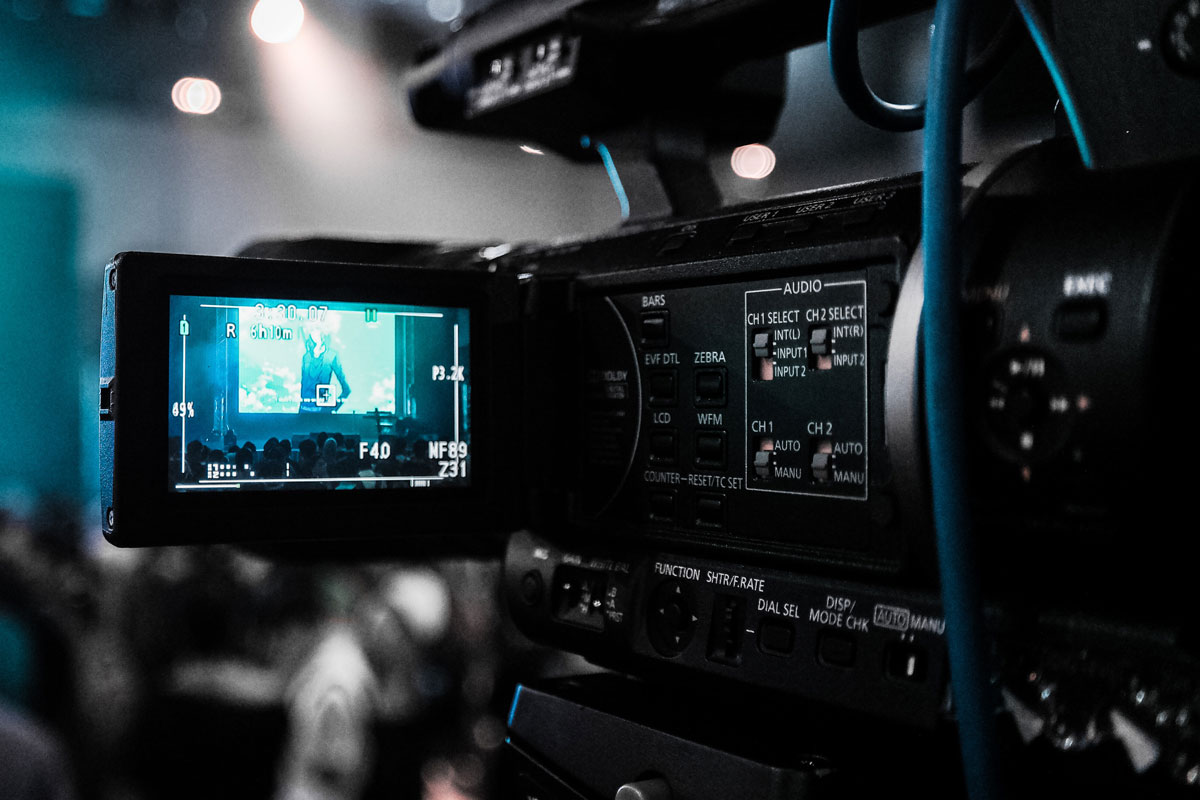 Camera Recording Photo