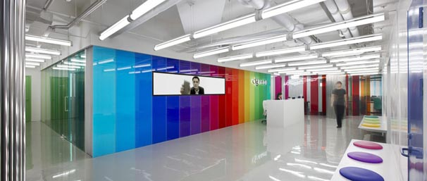 Bright Colours In Office Design Create Vibrant Atmospheres And Give Staff A  Lift