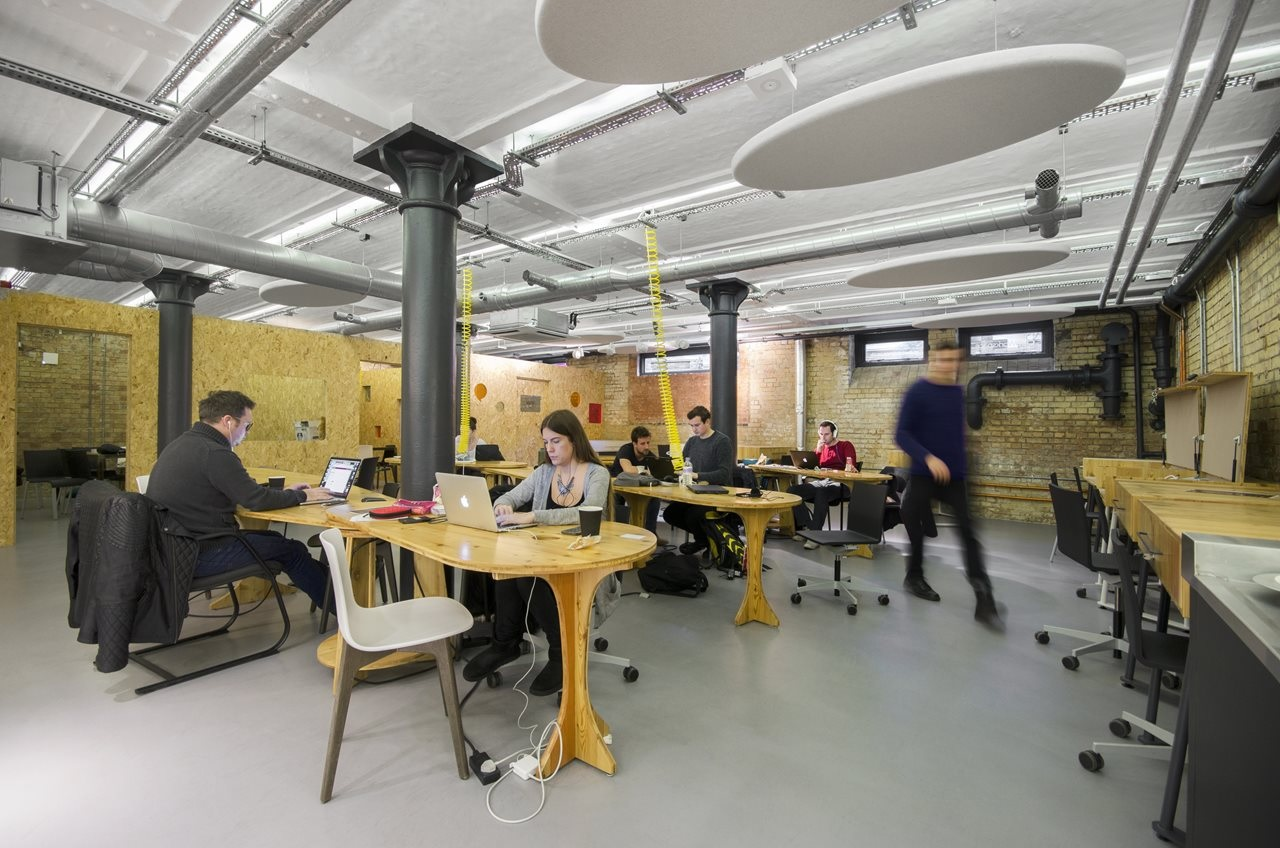 Club Workspace's SE1 coworking venue at Cargo Works.
