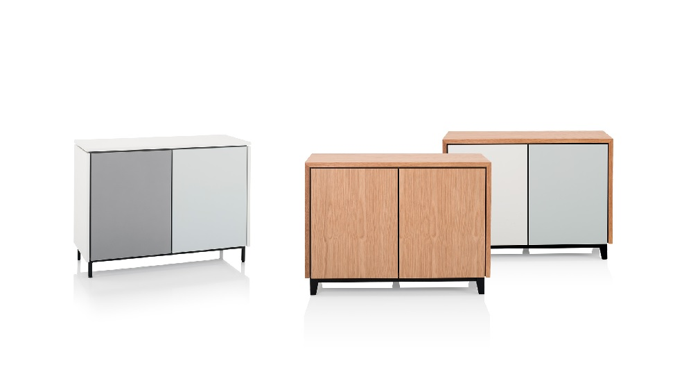 Storage credenzas by Orangebox