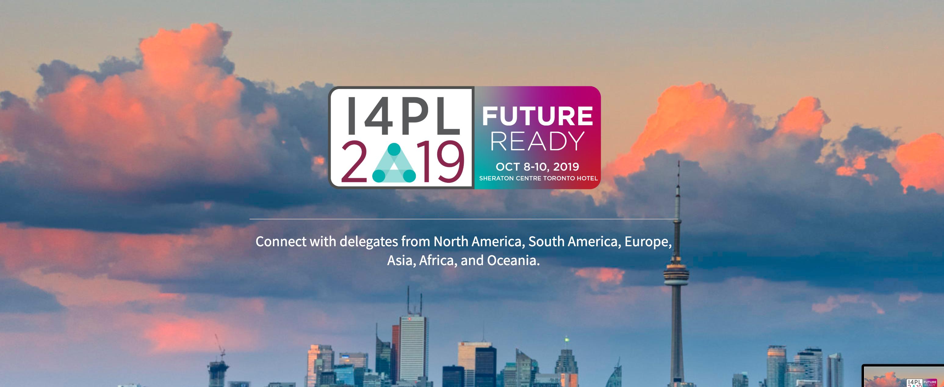 October 8-10: I4PL 2019