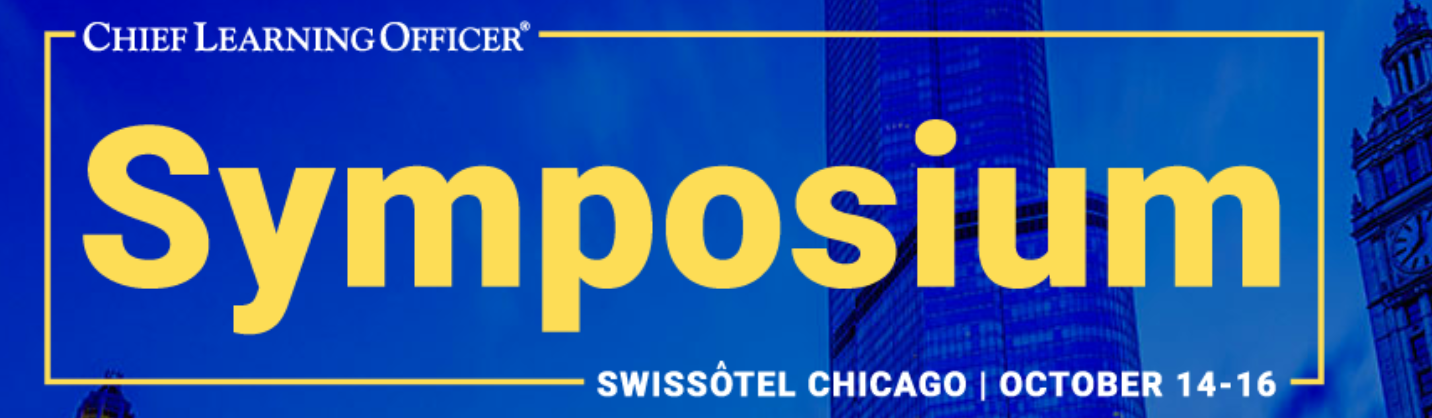 October 14-16: Chief Learning Officer Symposium