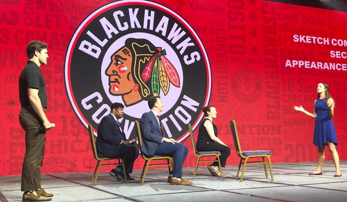 Second City Celebrates 12 Years of Laughs at the Chicago Blackhawks Convention