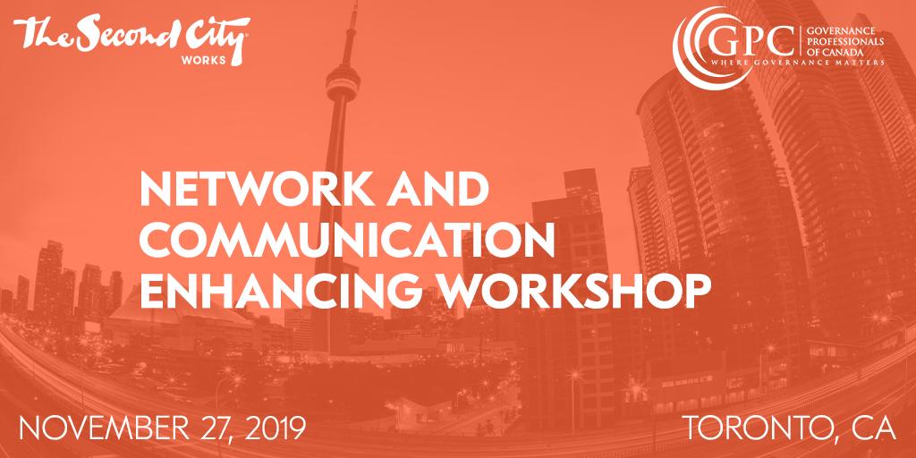 November 27: Network and Communication Enhancing Workshop