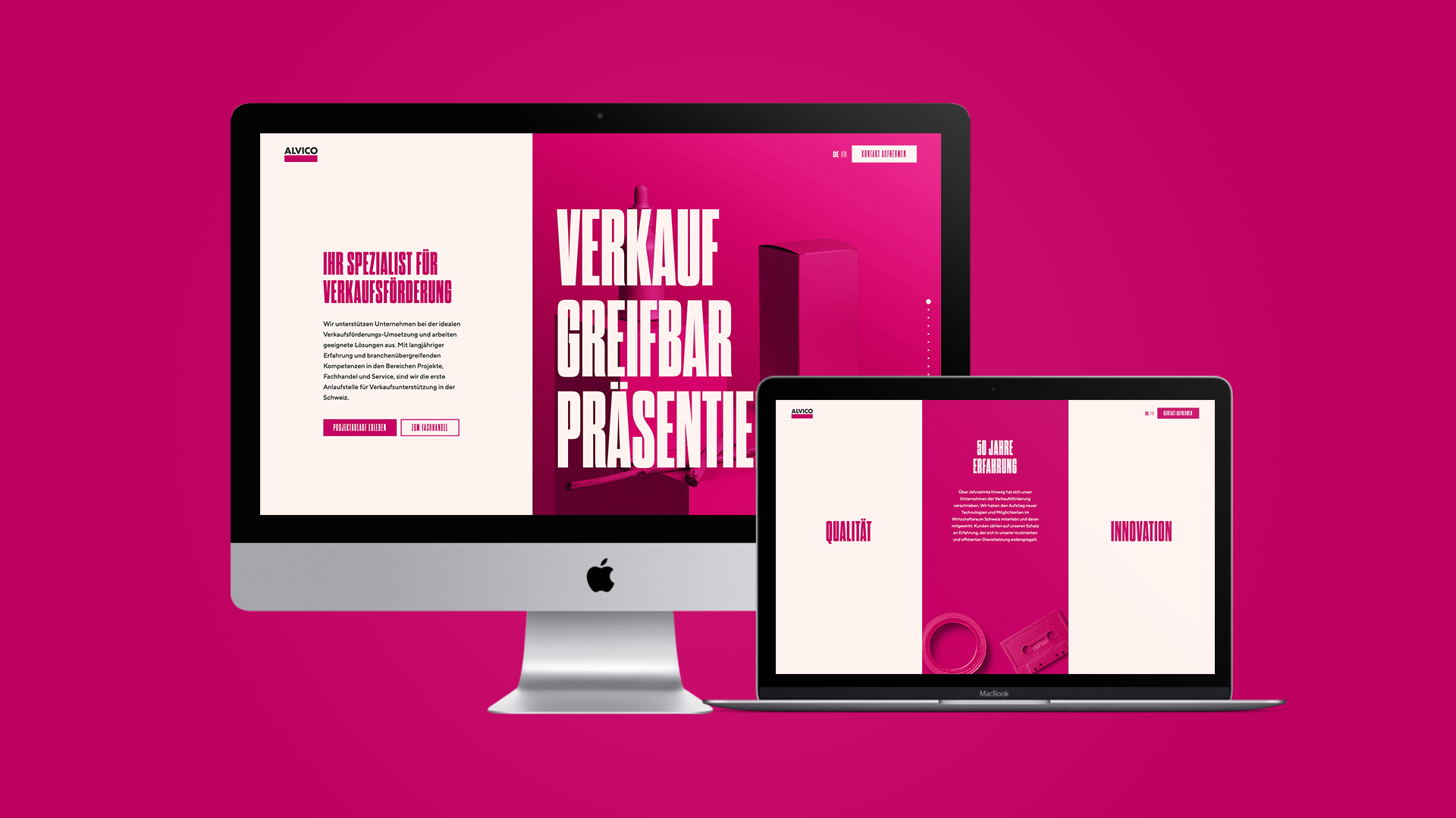 ALVICO Website by ESE Media
