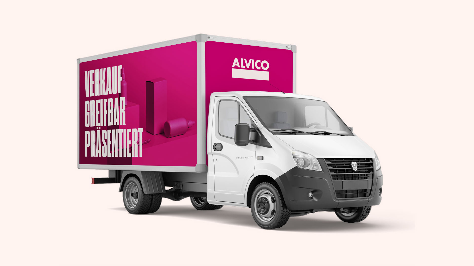 ALVICO Transporter Design by ESE Media