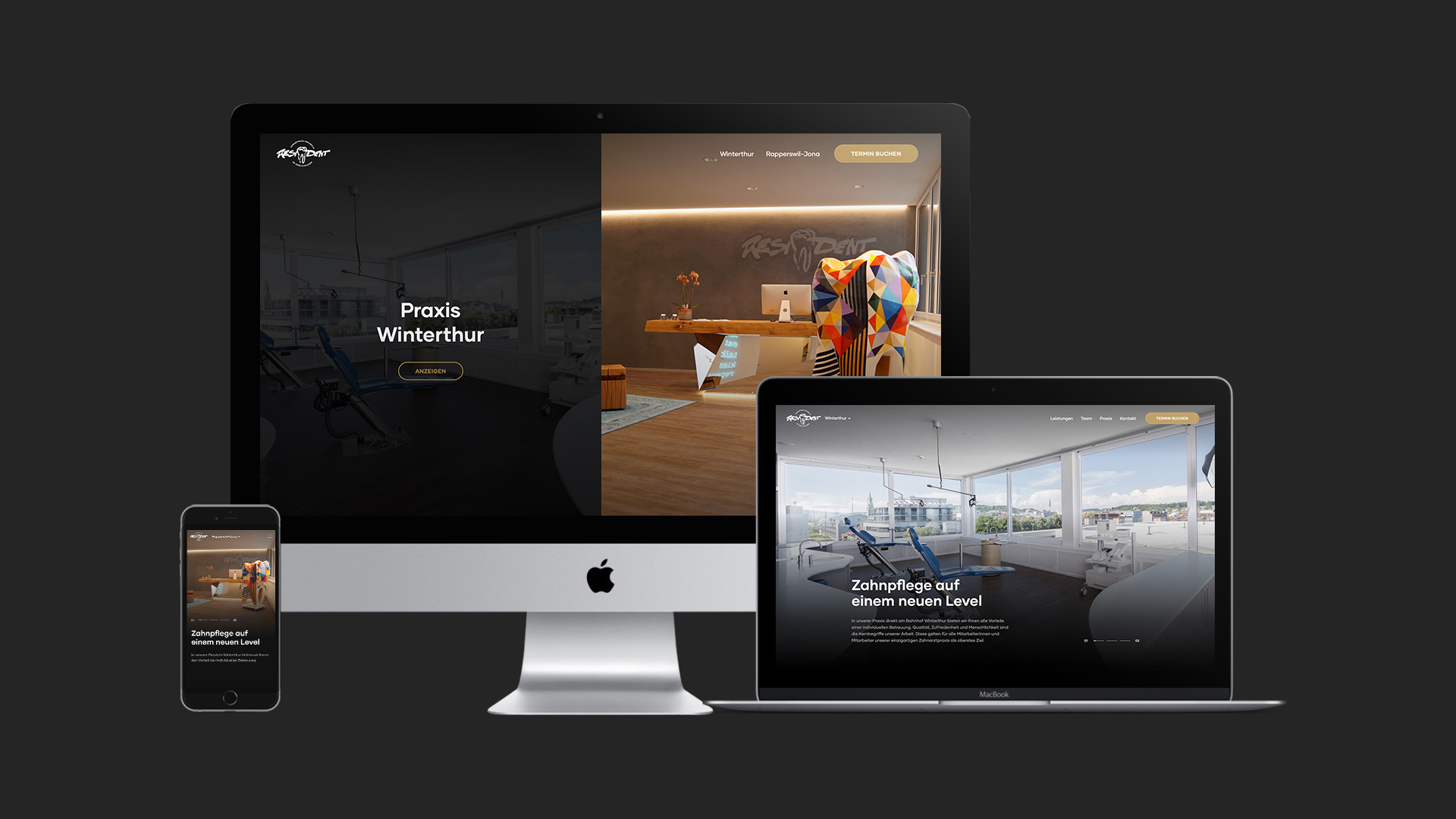 Resident Webseite by ESE Media