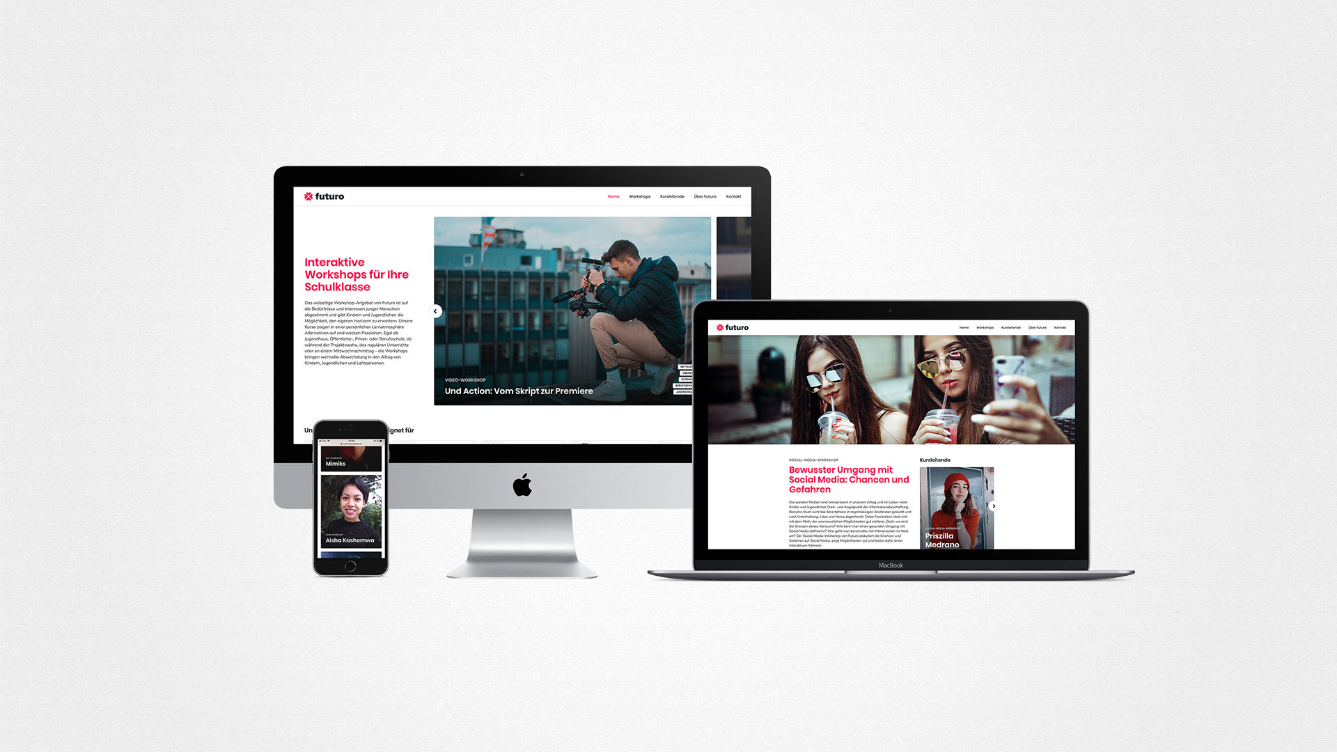 Futuro Website by ESE Media