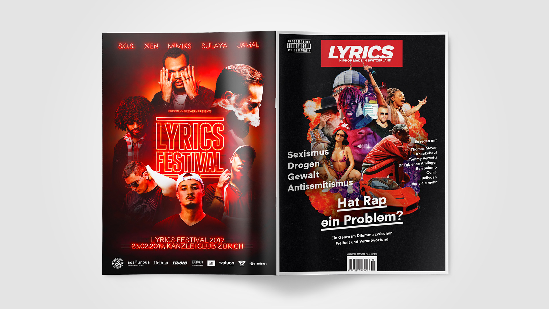 Cover und Back-Cover designt by ESE Media