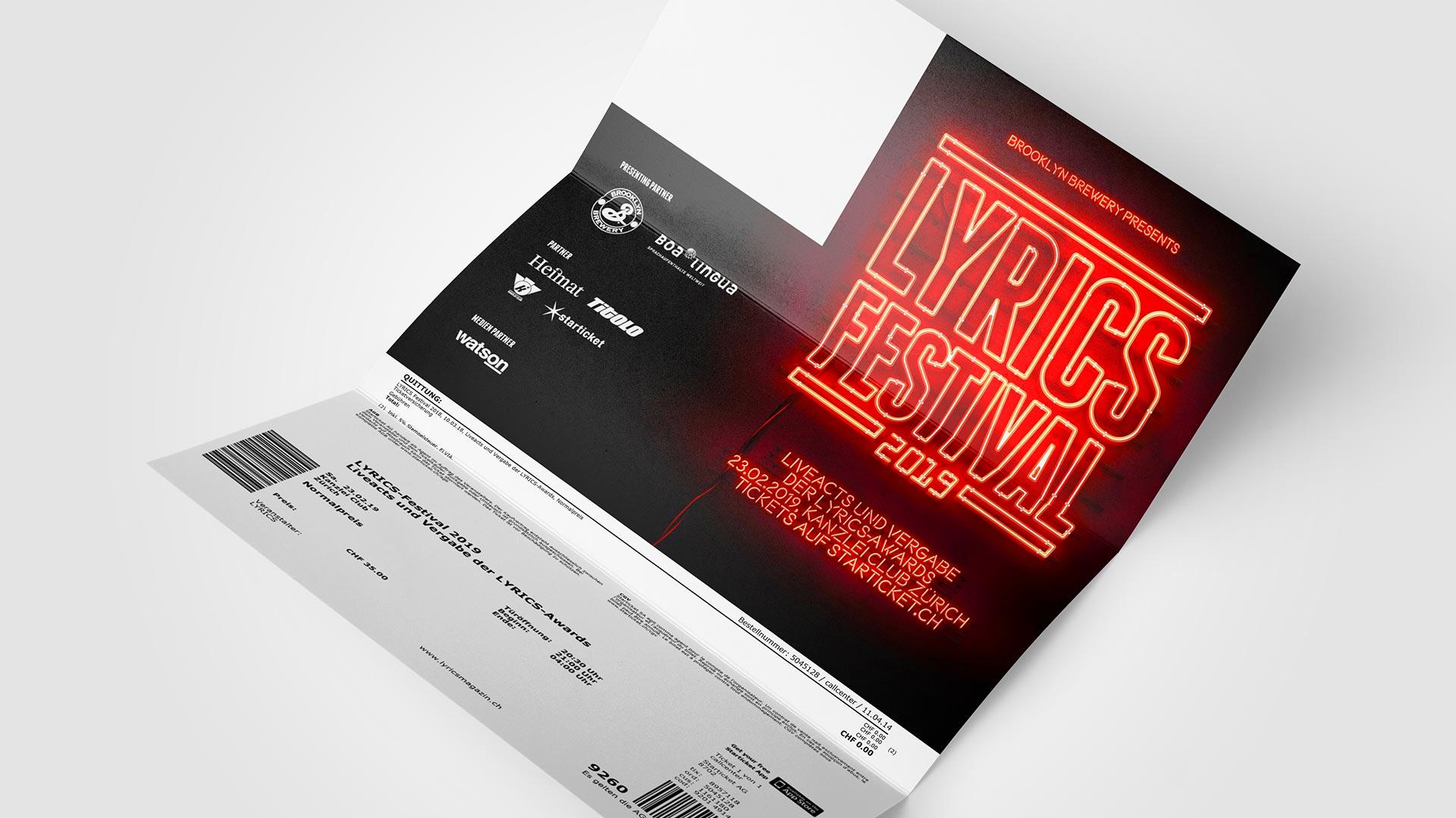 Eintrittskarten Design by ESE Media