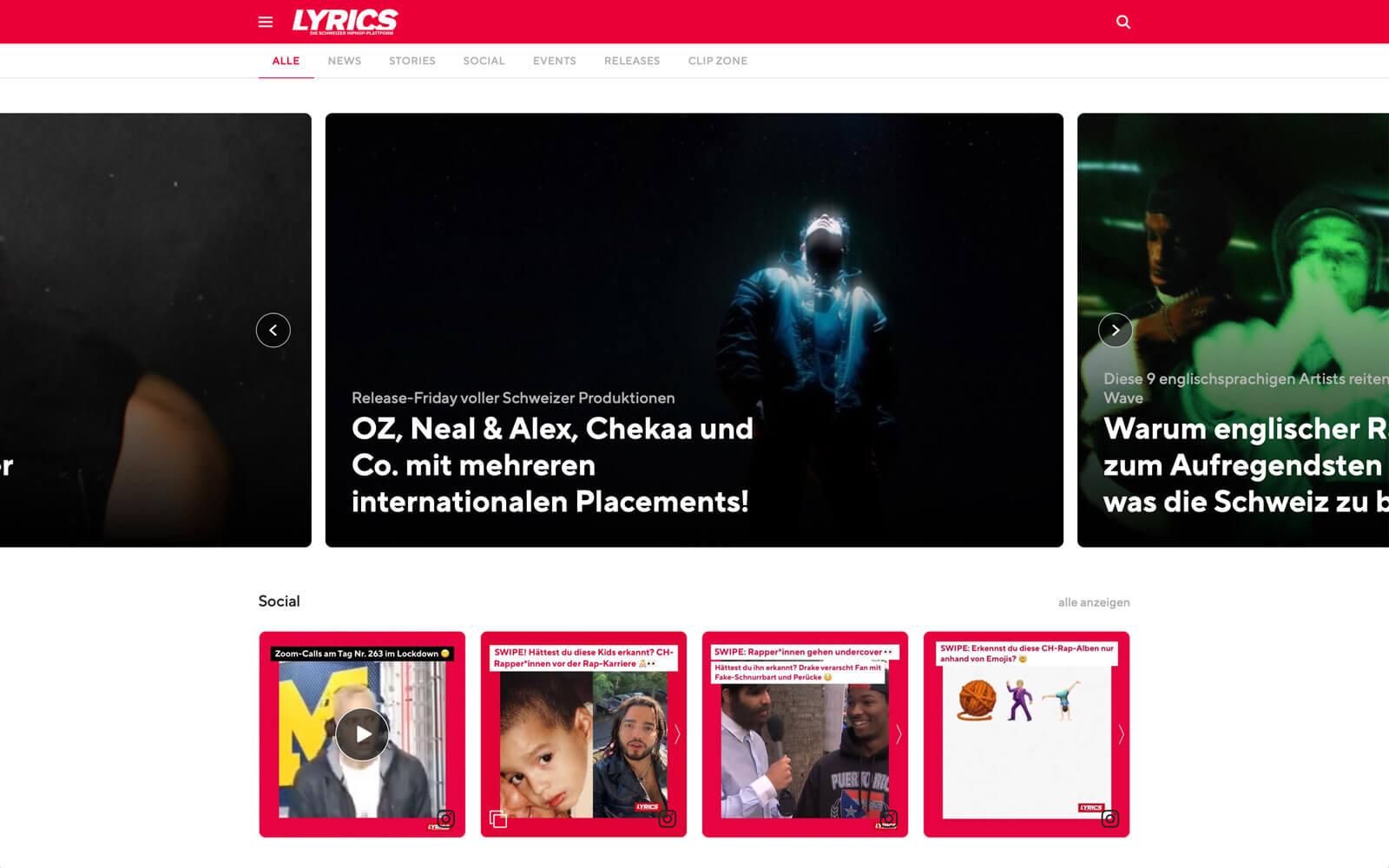 LYRICS Magazin