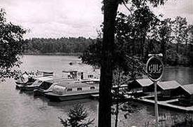 Bald Ridge Marina in 1959
