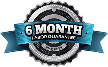 6 month labor warranty guarantee
