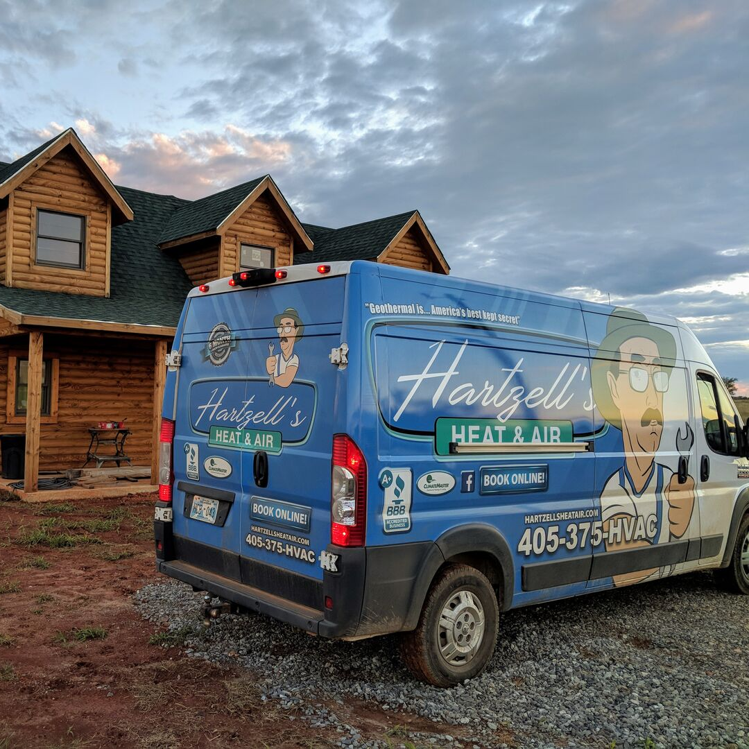 Dave Hartzell and his team providing residential heating and cooling services