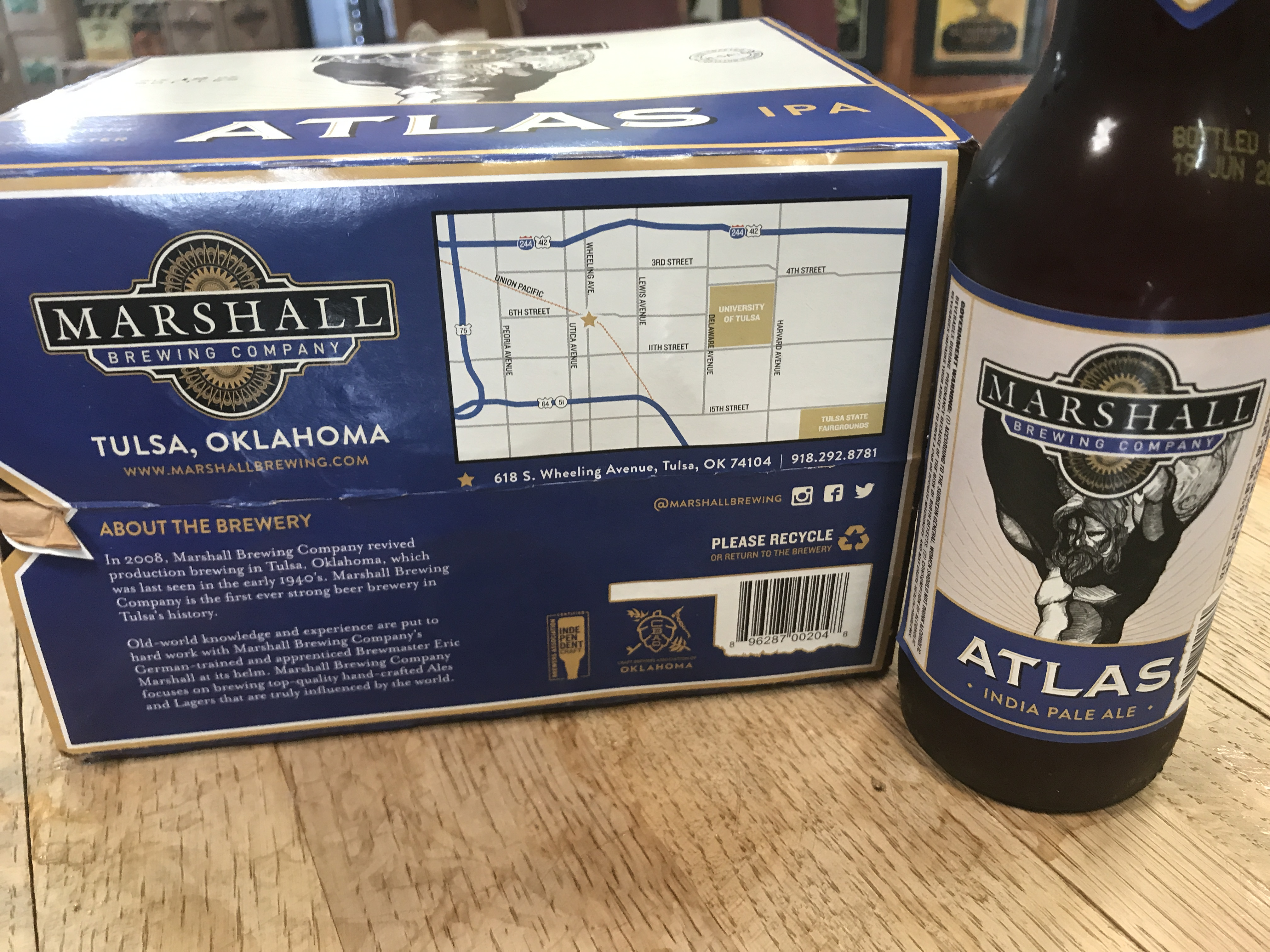 Marshall Brewing Company Independent Craft Brewers Seal