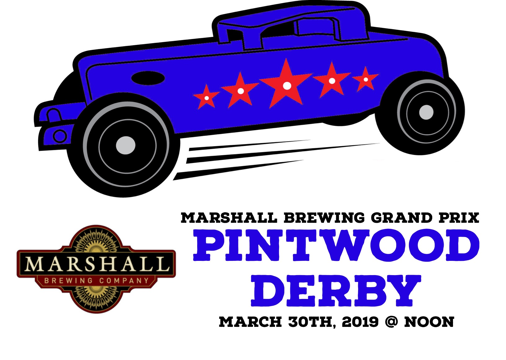 Marshall Pintwood Derby Poster