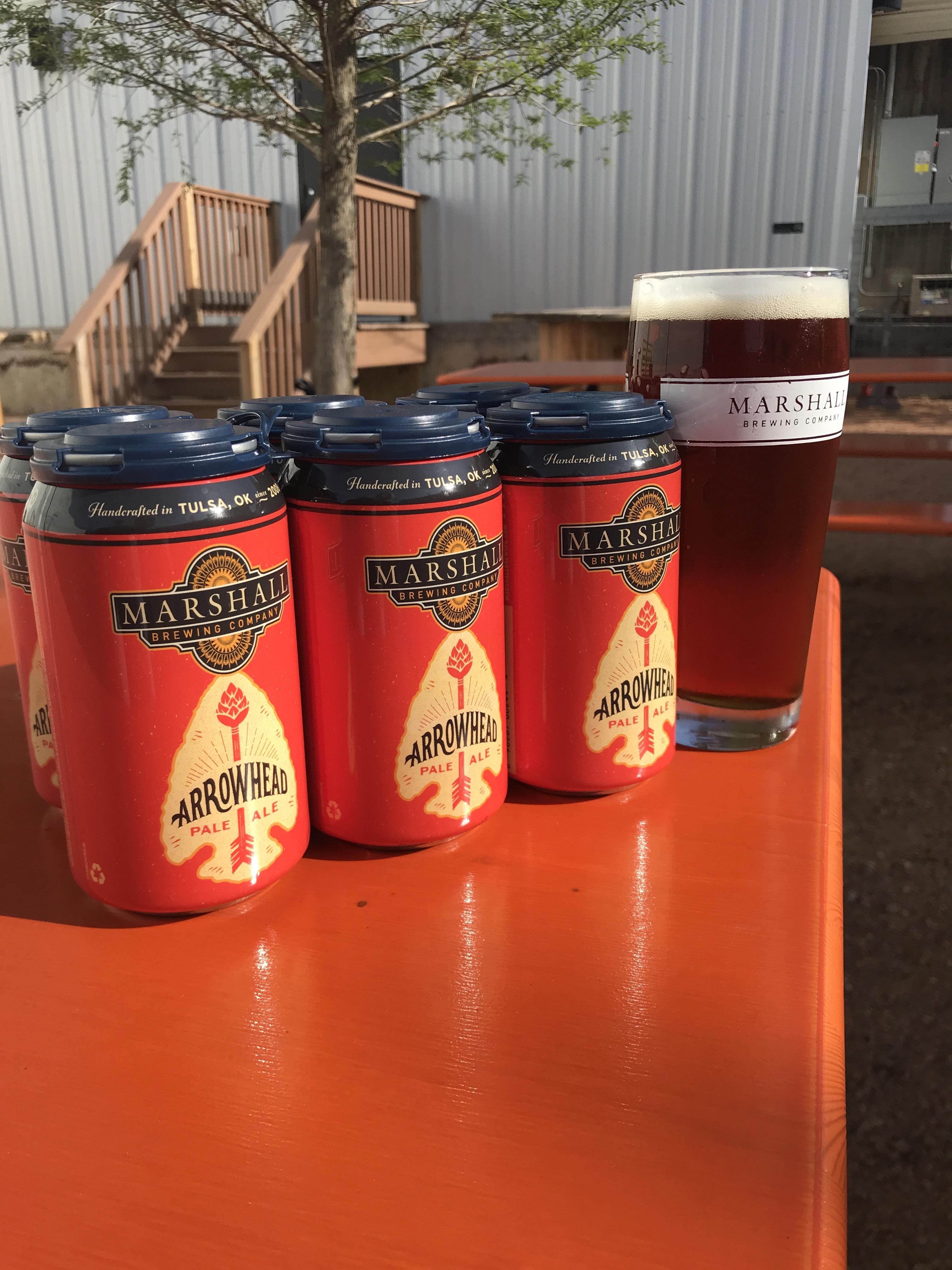 Arrowhead Pale Ale Cans