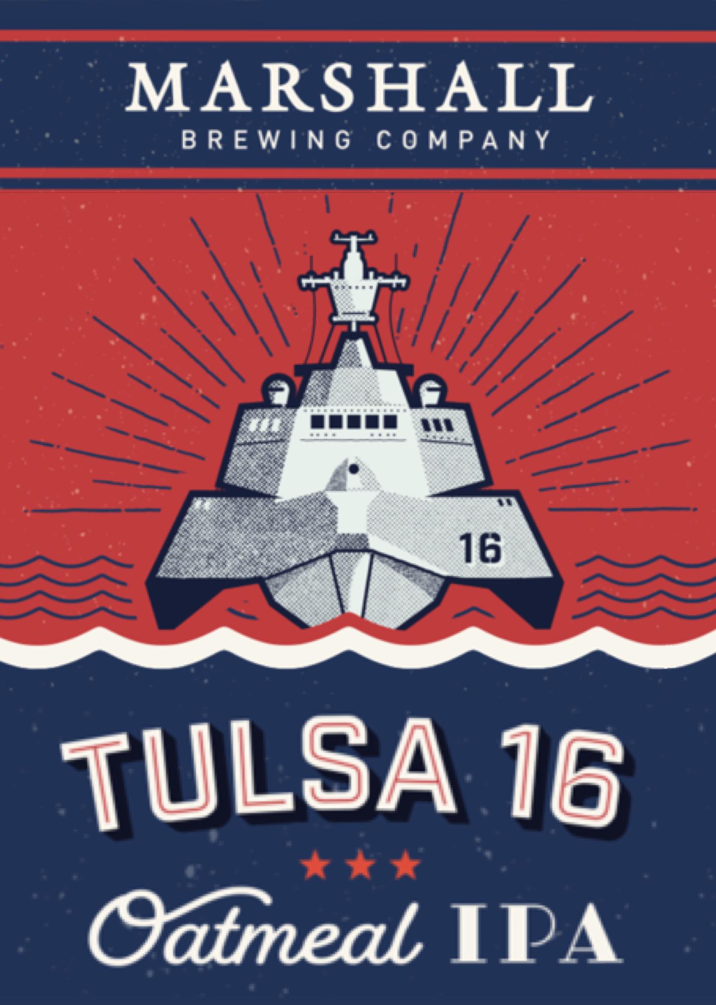Tulsa '16 Oatmeal IPA