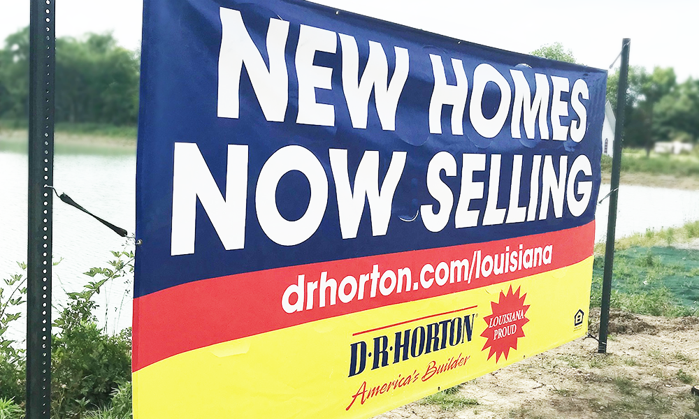 BANNERS Outdoor D.R.Horton