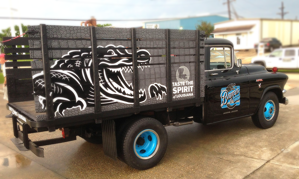 Vehicle & Fleet Graphics Bayou Rum