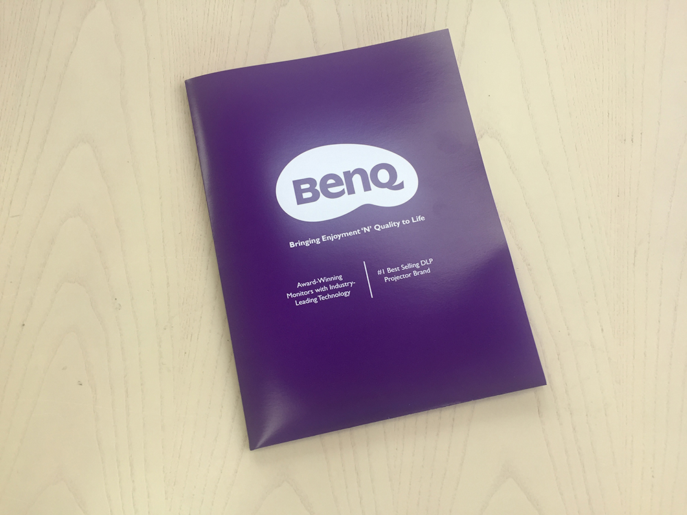 LETTERPRESS BENQ Pocket folder outside