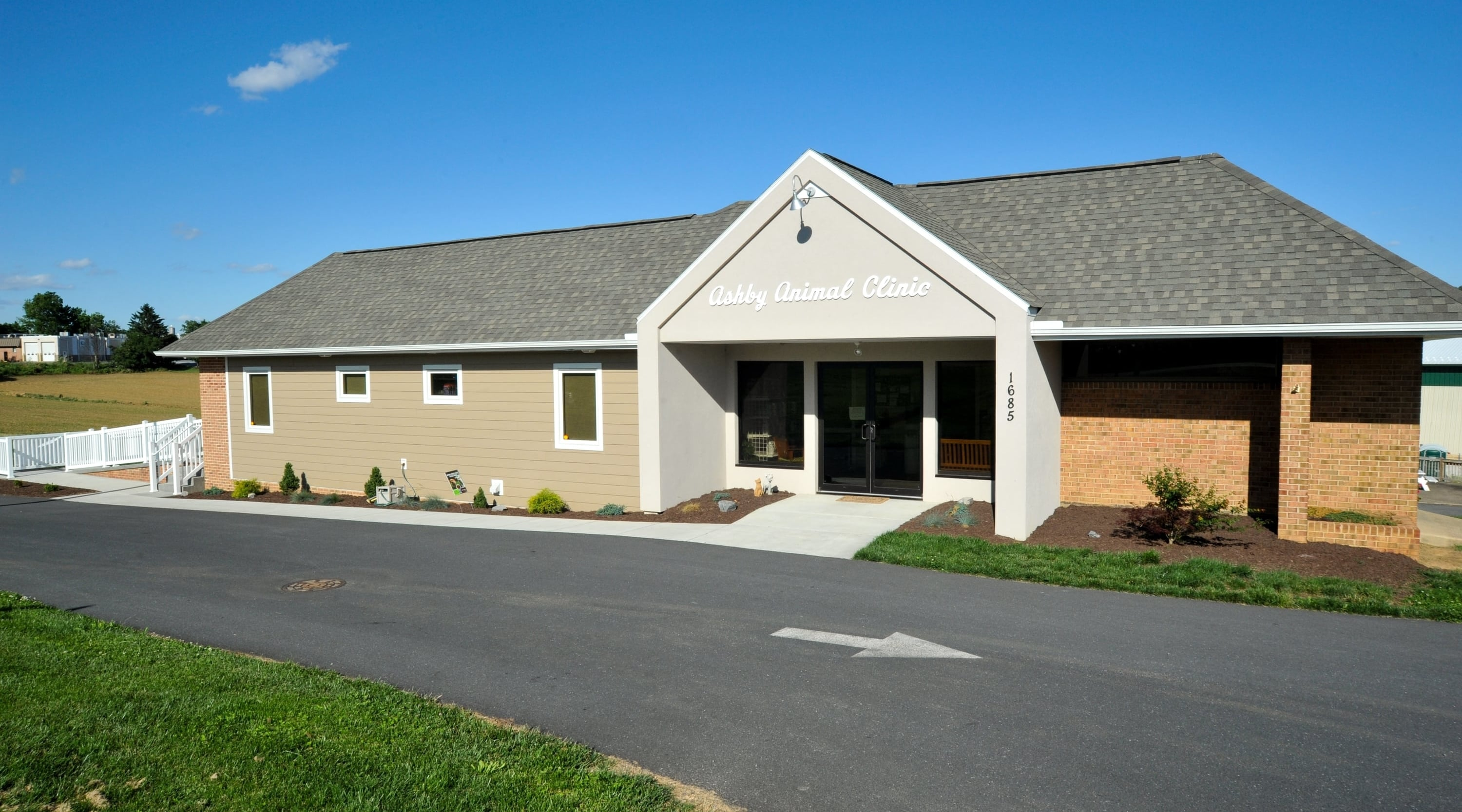 Exterior photo of Ashby Animal Clinic