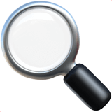 Left Pointing Magnifying Glass