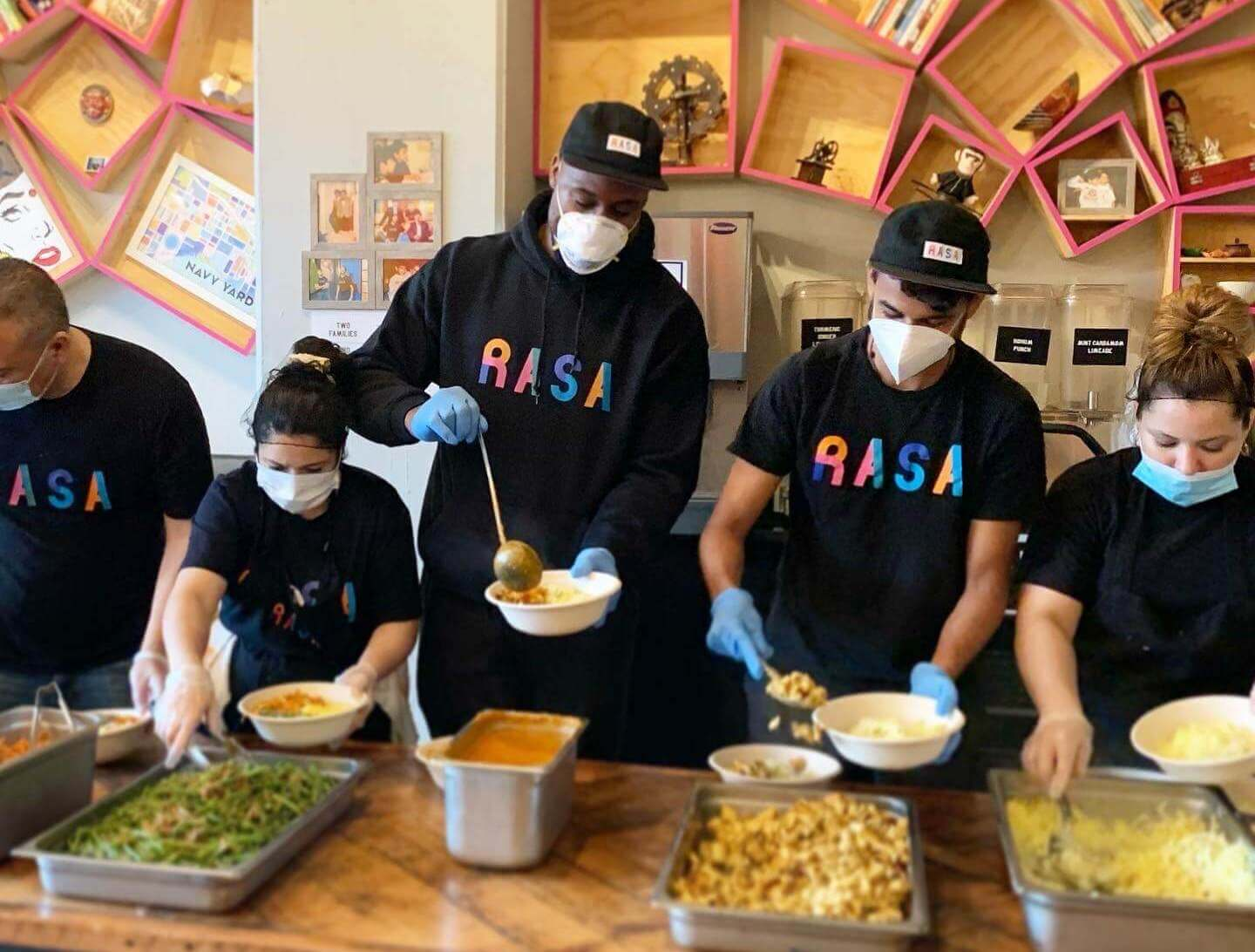 Givebutter: RASA DC - Feed the District