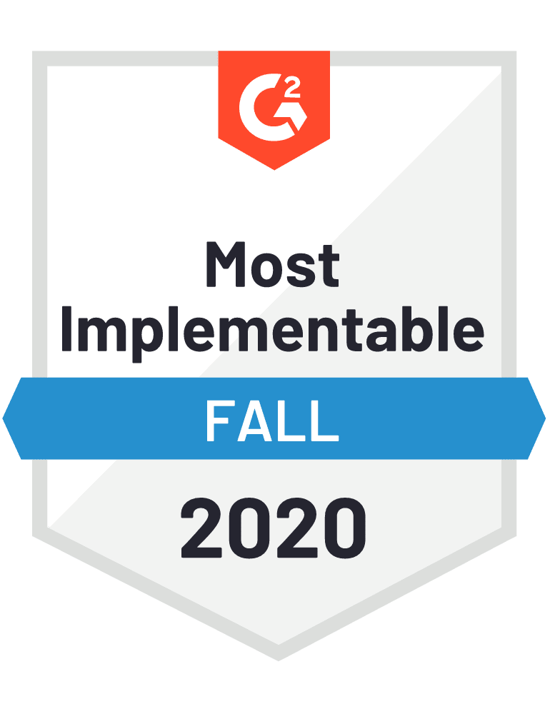 Givebutter: Most Implementable Badge - G2 Fall 2020