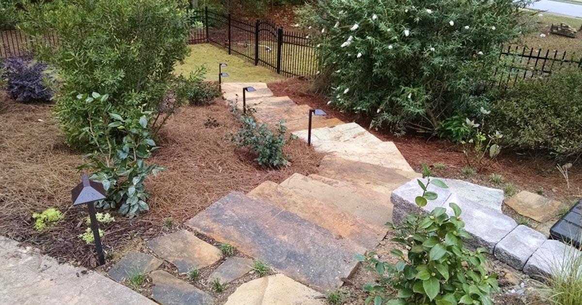Landscape Steps & Walkways