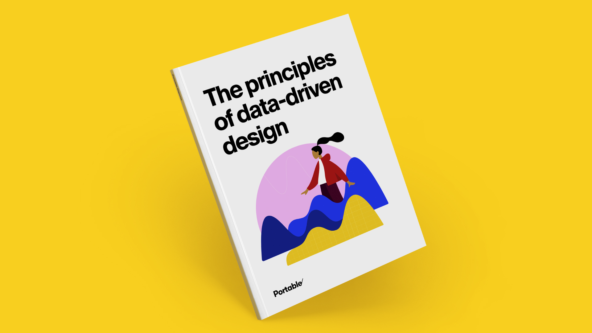Cover of a report called The Principles of Data-Drive Design
