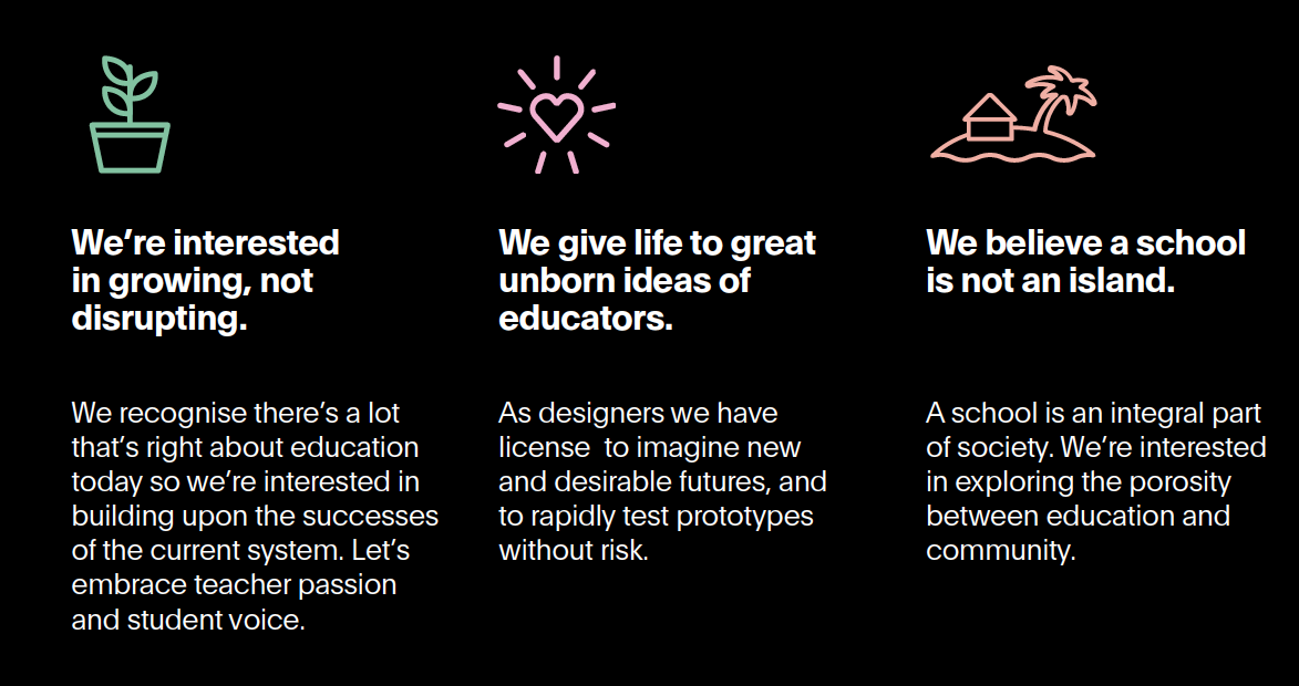first 3 principles from our education report