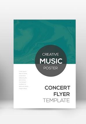 gala invitation: Modern poster invitation template