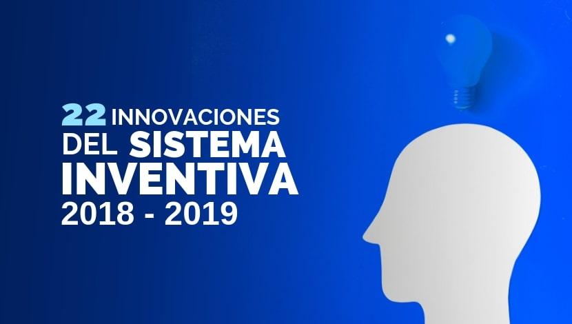 22 Innovaciones del Sistema Inventiva 2018 - 2019 - Una persona con un foco en la cabeza haciendo alusión de que piensa en algo.